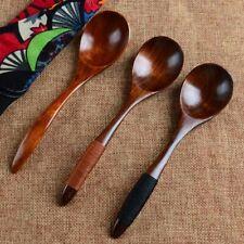 Mode cuillère en bois bambou cuisine Ustensile Outils soupe à café Catering