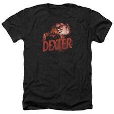 Dexter Drawing Mens Heather Shirt Black