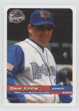 2003 Grandstand Midland RockHounds #20 Dave Joppie Rookie Baseball Card