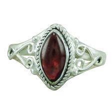 925 Sterling Silver Garnet Hottest Designer Ring ASZ-L O Q S