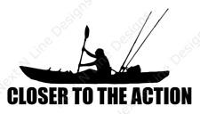 Fishing, Kayak, Kayak Fisherman, Rockfish, Striped Bass, Window Sticker, Car