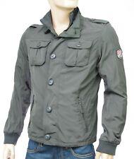 TOMMY HILFIGER blouson nylon homme gris DOZER Jacket dark shadow Taille M