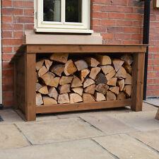 Langham Major Outdoor Wooden Logstore - Heavy Duty