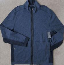 NAUTICA Blue Indigo) Softshell Full Zip Track Jacket Men's NWT $98
