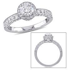 Amour Laura Ashley 1 1/2 CT Diamond TW Bridal Ring 14k White Gold