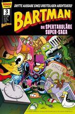 "SIMPSONS COMICS PRÃ""SENTIERT: BARTMAN TRILOGIE (deutsch) #1,2+3  SUPER SPEKTAKEL"