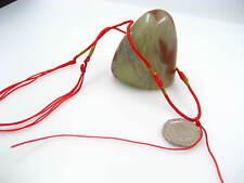 Red necklace hang string cords for jade finished adjustable necklace string