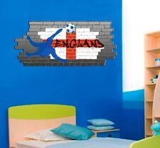 Football England Flag / Union Jack Graffiti World Cup Wall Sticker Art Removable