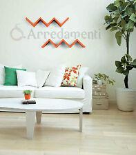 mensola in legno modello saetta colori assortiti mobili ripiano mensole piano