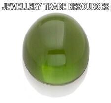 12 Mm Verde Natural Ronda Peridot Cabuchón corte de gema de piedras preciosas