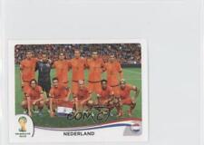 2014 Panini FIFA World Cup Brazil Album Stickers #128 Nederland Soccer Card
