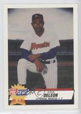 1993 Fleer ProCards Minor League #4145 Elcilio De Leon Lethbridge Mounties Card