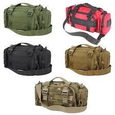 Condor 127 Tactical 3 Compartment MOLLE Modular Adjustable Strap Deployment Bag