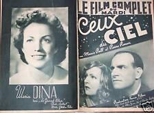"""FILM COMPLET DU MARDI 1940 N 2419  """"CEUX DU CIEL"""""""