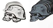 "NEW Metal Mulisha WWV 12"" White or Black Helmet Sticker Decal"