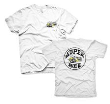 Dodge Super Bee Biene Muscle Car Auto Männer Men T-Shirt Weiss White