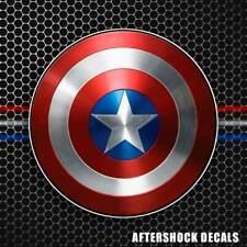 Captain America Shield Sticker Decal Superhero Comic Window iphone for Avengers