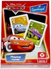 Jeu de 54 cartes à jouer CARS par DISNEY - PIXAR cartamundi playing cards enfant