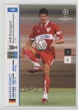 2007 2007-08 Panini UEFA Champions League #189 Mario Gomez VfB Stuttgart Card