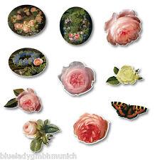 Magnete Küchenmagnete ✿ Classic Rose ✿ 10 Rosen Motive Kühlschrank Magnet
