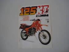 advertising Pubblicità 1984 MOTO MORINI 125 KJ