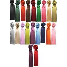 mujer PREMIER Liso Color Uniforme Chal Para Cuello