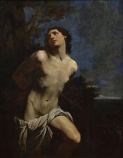 Guido Reni  - Saint Sebastian II Giclee Canvas Print