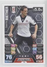 2013 2013-14 Topps Match Attax English Premier League #110 Sascha Riether Card
