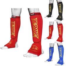 Be Smart Shin Instep Foot Leg Protector Kick Boxing Contact MMA Pads
