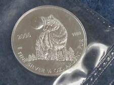 2006 Canada Half Ounce Silver Wolf .9999 Fine Dollar BU Gem sealed B8916