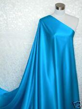 Pure Silk Charmeuse Fabric Royal Blue Per Yard