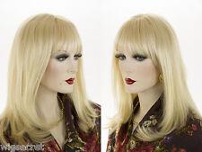 Medium Premium Remy Human Hair  Blonde Brunette Red Straight Monofilament Wigs
