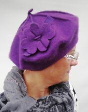 Béret Basque femmes Bonnet Mcburn Application chapeaux pour femmes laine
