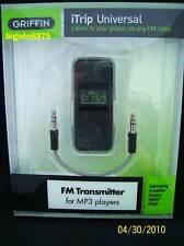 Griffin iTrip Universal Black FM TRANSMITTER Sansa iPod Nano Classic Cowon C2