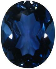 Natural Fine Deep London Blue Topaz - Oval - Sri Lanka - Top Grade
