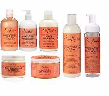 Shea Moisture Coconut & Hibiscus Curl Enhancing Mousse Gel Souffle Hair Shampoo