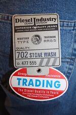 Diesel Jeans Trading stone blue Col. 702 neu gerader lockerer Schnitt Berlin