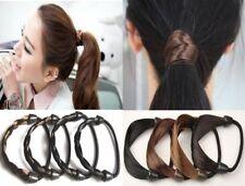 Womens Braid/Straight Wig Elastic Hair Band Rope Girls Scrunchie Ponytail Holder
