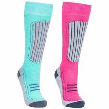Womens Trespass Janus 2 Pack Ski Socks