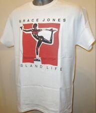 Grace Jones Retro 80s Pop Funk Soul Disco Music T Shirt Island Life Prince 362