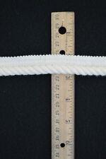 "Conso Twisted Cording w/ 1/2"" Lip - 3/8""w x 3yds Cut - Off white / Cream"