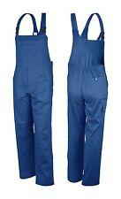 Latzhose Montagehose 42-68 kornblau blau Arbeitshose Berufshose Overall Hose NEU