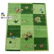 Kinderteppich Arte Espina Sam 4150-61 *Schmetterling grün* 2 Grössen wählbar NEU