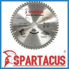 Spartacus Wood Cutting Saw Blade 216 mm x 60 Teeth x 30mm Fits Various Model