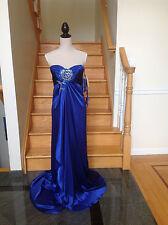 3411 Jovani Long Royal Blue Prom Evening dress 2 4