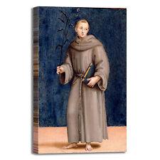 Raffaello s. Antonio da Padova quadro stampa tela dipinto telaio arredo casa