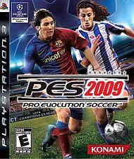 Pro Evolution Soccer 2009 PlayStation 3 PS3 -- CIB