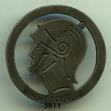 Insigne légion , 5 / 1  REC.  (  Ø 31mm. )