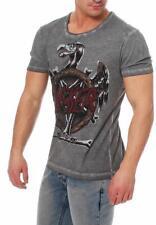 Disturbia Herren T-Shirt Kurzarmshirt Shirt Slacker