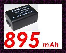 "★★★ ""895mA"" BATTERIE Type DMW-BMB9 / BMB9E ★★★ Pour PANASONIC DMC-FZ45"